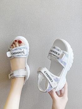Summer Beach Students Sport Chunky Sandals