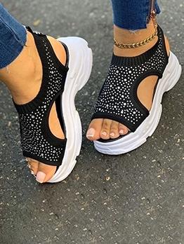 Fashion Toe Outside Leakage Women Summer Sandals