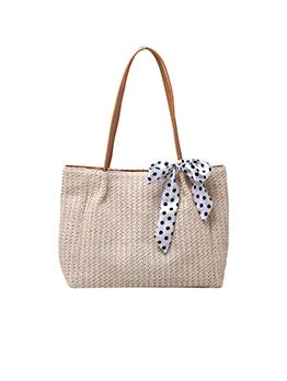 Korean Fashion Simple Straw Tote Bags