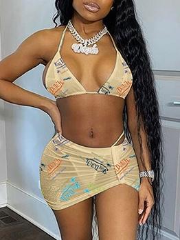 Fashion Sexy Halter Bikini Sets For Women