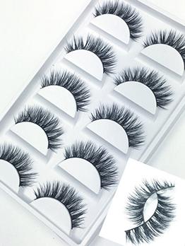 Natural Handmade Thick False Eyelashes