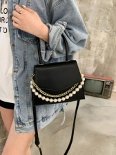 Popular Chain Patch Crossbody Handbags