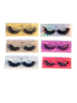 Mink Fur Dense False Eyelashes 1 Pairs Pack