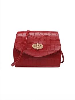 Korean Stone Pattern Shoulder Bags