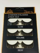 3D Stereo Handmade Dense False Eyelashes