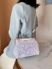 Sequined Versatile Shoulder Bags For Women