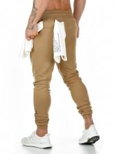 Leisure Printed Long Skinny Pants For Men