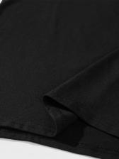 New Arrival Printed Black Mens Tee Shirts