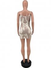 Fashion Fitted Spaghetti Strap Sleeveless Dresses