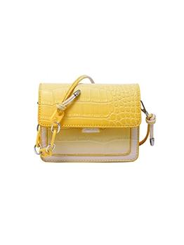New Contrast Color Crossbody Bag