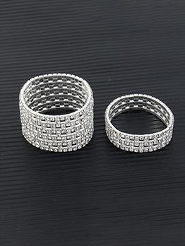 Party Accessories Full Rhinestone Bracelet