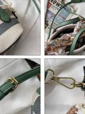 New Contrast Color Design Handbags For Girls