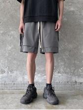 Summer Casual Patchwork Short Pants For Men