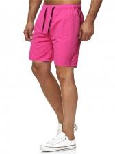 Summer Casual Solid Short Pants For Men