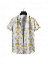 Hawaii Vacation Style Printed Shirts For Men