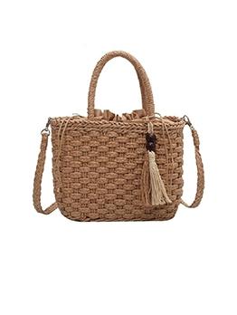 New Tassel Weaving Handbags For Women