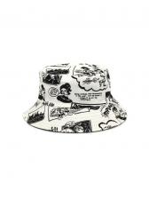 Cartoon Character Printed Fashion Fisherman Hat