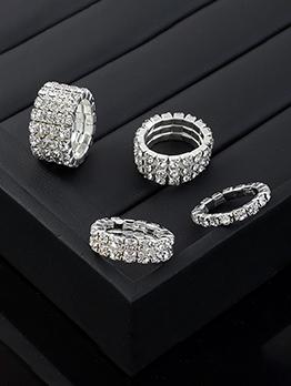 Temperament Full Rhinestone Ring For Women