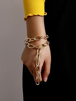 Trendy Personality Hip Hop Necklace Bracelet Design