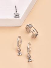 Korean Stylish Easy Matching Women Stud Earrings