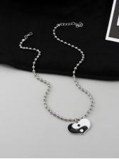 Heart Shape Pendant Necklace For Unisex