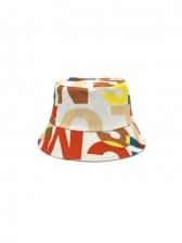 Vintage Novelty Design Printed Trendy Fisherman Hat