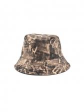 British Style Vintage Printed Vogue Fisherman Hat