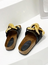 Geometry Design Cozy Casual Slippers For Women