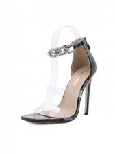 Summer Patch Stiletto Heels Ladies Sandal
