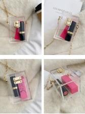 Attractive Mini Perspective Chain Shoulder Bags