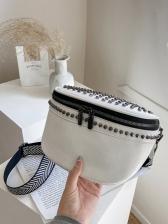 Easy Match Rivet Shoulder Bags For Women