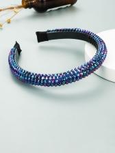 Fashion Bright Rhinestone Hair Hoop For Women