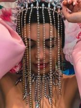 Personality Vintage Tassel Rhinestone Hair Accessories