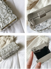 Retro Style Party Sequined Rhinestone Chain Shoulder Bags