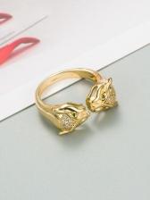 Fashion Animal Zircon Hip Hop Ring