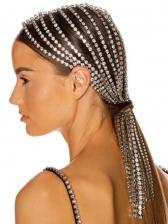 New Rhinestone Tassel Hair Accessories For Women