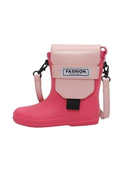 Individual Funny Shoe Letter Shoulder Bags
