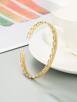 Geometry Zircon Fashion Women Bracelet