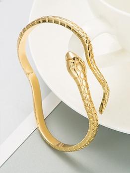 Stylish Cool Snake Shape Vintage Bracelet