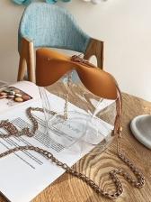 Cute Patchwork Perspective Shoulder Bags