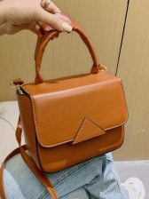 Fashion Simple Triangle Shoulder Bags