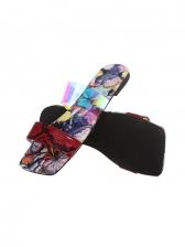 Summer Animal Print Beach Slippers For Girls
