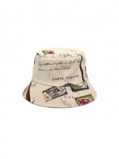 Stylish Letter Funny Pattern Fisherman Hat
