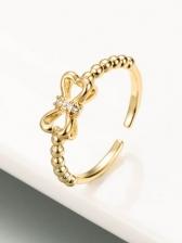 Vintage Geometry Adjustable Ring For Lovers