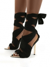 Sexy Street Catwalk Style Heeled Sandals