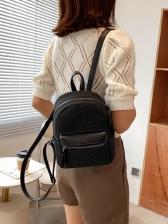 Vintage Zipper Backpacks For Girls