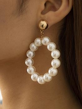 Faux-Pearl Fashion Vintage Earrings For Women