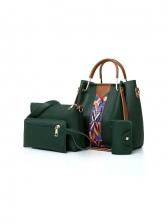 Contrast Color 4 Piece Bags Summer
