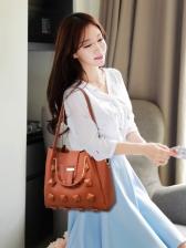 RhombusPlaid Three Piece Bags For Women