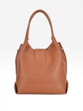 Pu Solid Three Piece Summer Bags